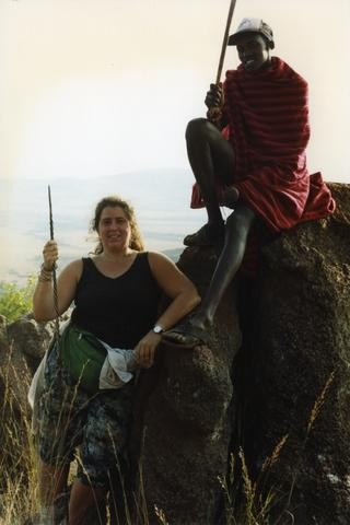 Africa Rachel with Elephant480