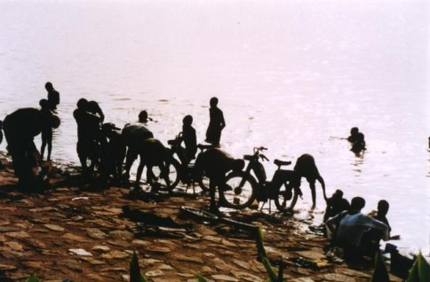 African Boys with Bikes318