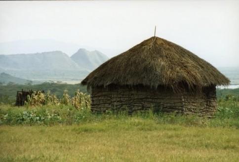 African Hut 01328