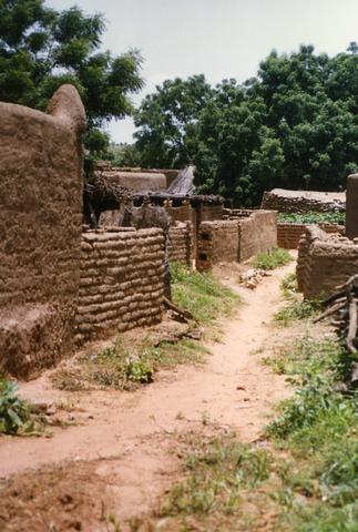 African Walled Village480