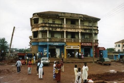 African Street Scene324