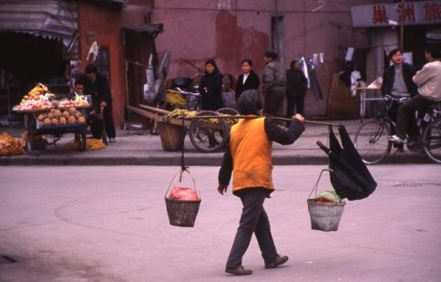 Chinese Woman with Two Buckets309