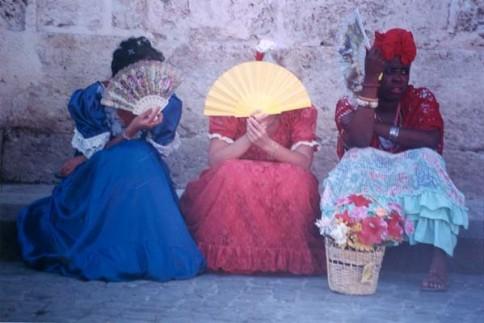 Cuban Fan Ladies323