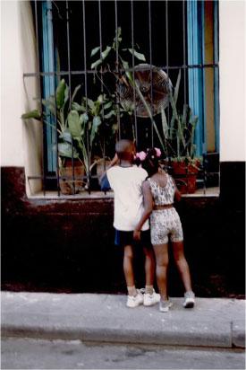 Cuban Kids at Window412