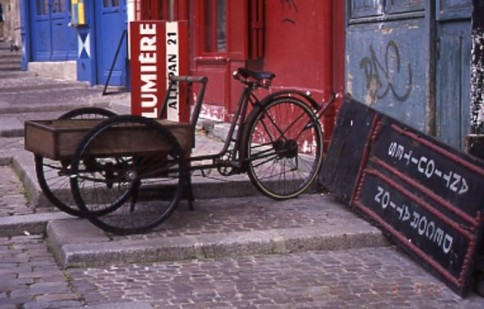 French Bicycle Cart309