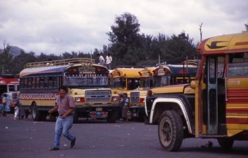 Guatamalan Bus Terminal 02309