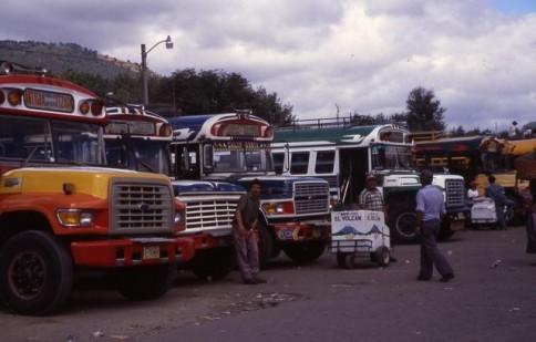 Guatemalan Bus Terminal309