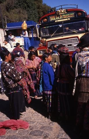 Guatemalans Boarding Bus480