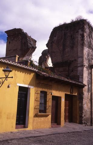 Guatemala yellow house w column_tif480