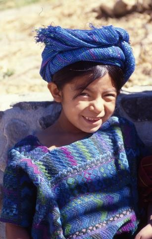 Guatemalan child in blue_tif480