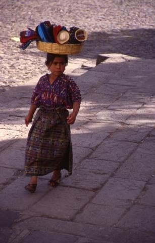 Guatemalan Child with Basket480