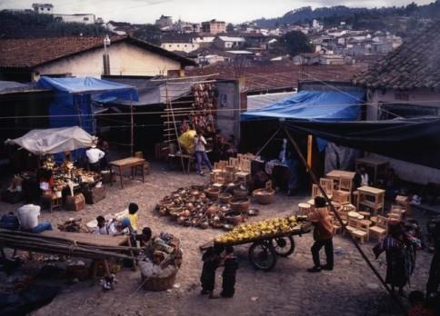 Guatemalan Market From Above The Rachel Tanur Memorial