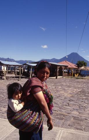 Guatemalan mother and papoose_tif480