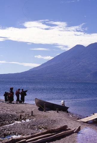 Guatemalan People with Boat 02480