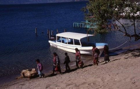Guatemalan People with Boat309